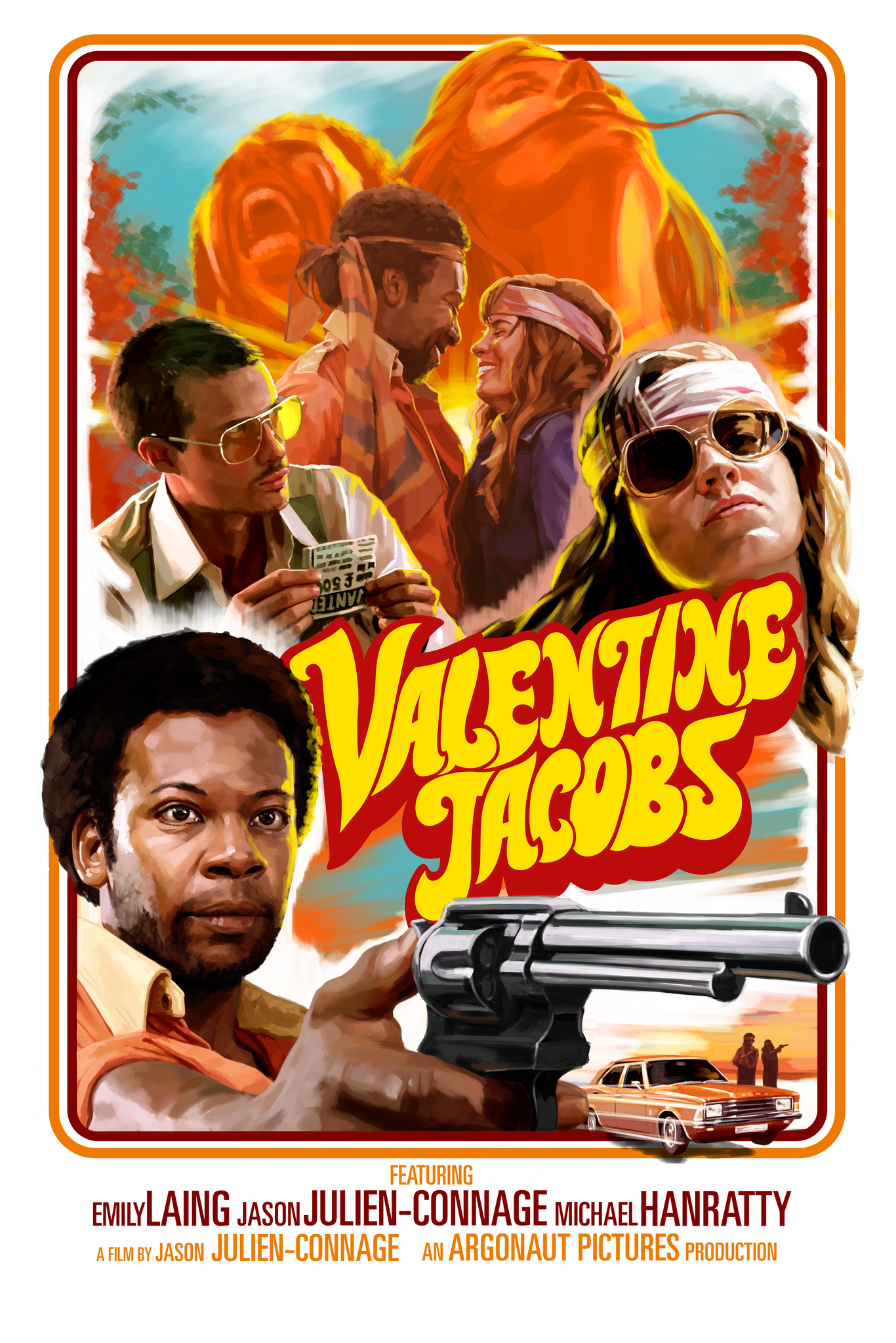 Argonaut Pictures Valentine Jacobs Official Poster
